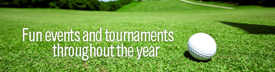 Fun Events and Tournaments Throughout the Year